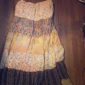 Dresses & Skirts - Boho Ankle length skirt